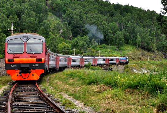 贝加尔湖火车环线1