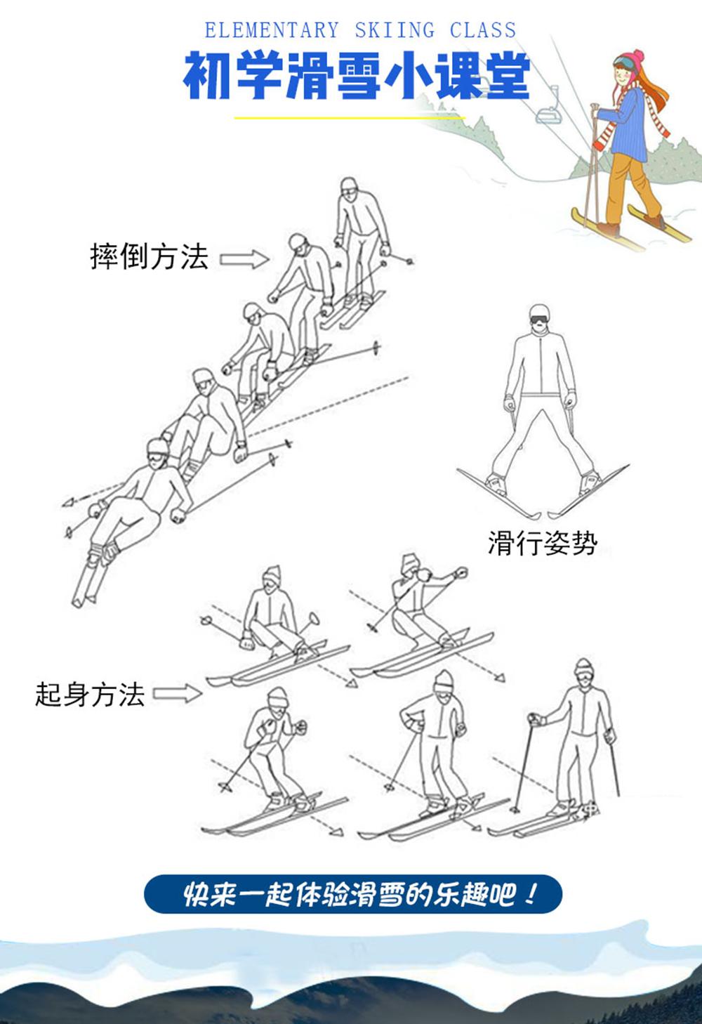 滑雪小课堂